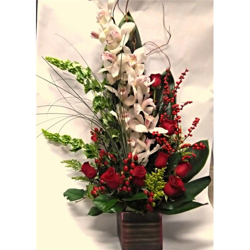 Orchid_Blooming_Red Roses_(Large_Orchid)_$149.99_SKU_OR-1102